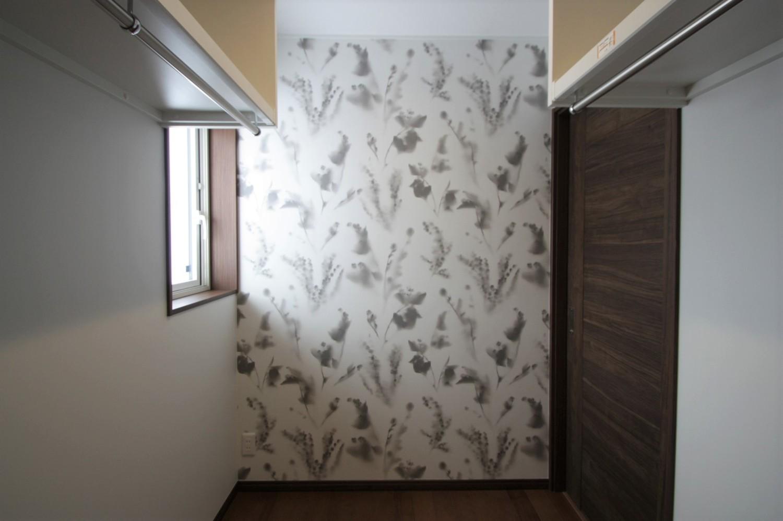 寝室は将来仕切って子ども部屋を作ることも可能 ウォークイン